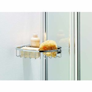 Coram Shower Screen 1050mm Square Bath Screen with Panel