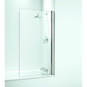 Coram Shower Screen 800mm Square Bath Screen