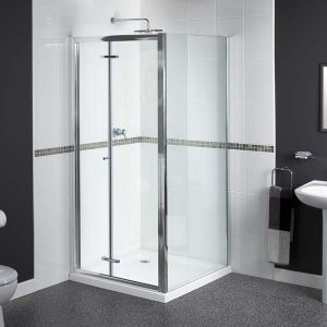 760mm Aqualux Shine BiFold Shower Door