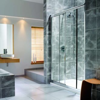 Twyford Bathrooms - 1600mm Hydr8 Sliding Door