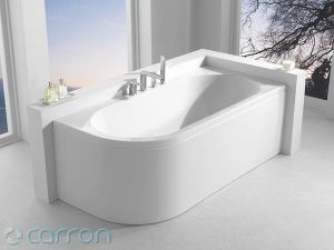 Carron Status Shower Bath 1500 x 800