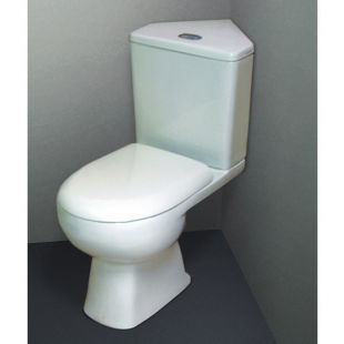 Corner Toilet : Tribune Space Saving Corner Toilet WC, Tribune, IMPTCWC10 from mbd ...