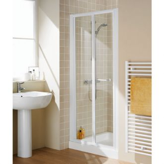 Lakes Shower Bifold Door from Midland Bathroom Distributors