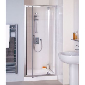 900mm Lakes Semi Frameless Pivot Door