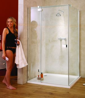 Lakes Shower - Italia Verona Pivot Shower Enclosure 1400mm x 900mm