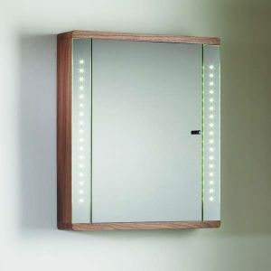 Roper Rhodes - Sensory Instinct Walnut Finish Single Mirror Glass Door Cabinet