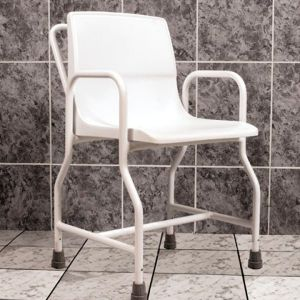 AKW Wheeled Shower Chair/Removable Arms