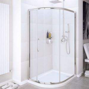 Lakes Single Door Quadrant Shower Enclosure 900mm