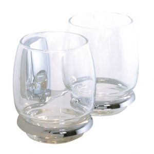 Aloa Twin Tumblers and Holder