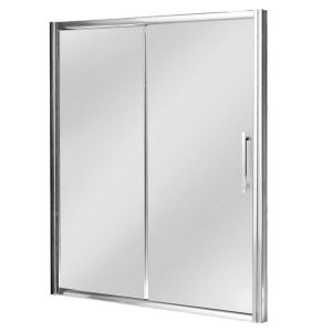 1000mm Single Sliding Shower Door  8mm Glass