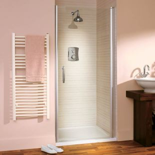 Lakes Shower - Affini Pivot Shower Door 900 mm