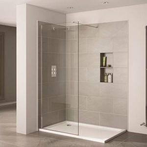 April Prestige2 1400mm Wetroom Panel 10mm Glass