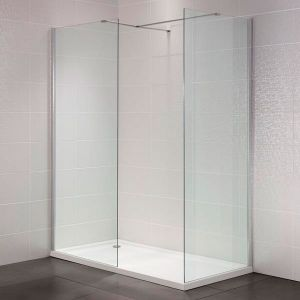 April Identiti2 300mm Wetroom Return Panel