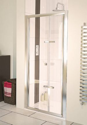 Aqualux - Aqua 6 Bi-fold Shower Door 760mm