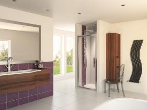 Aqua 8 Glide Pivot Shower Door 900mm