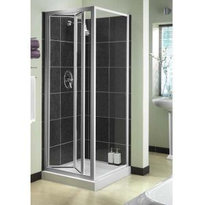Aqualux Aquarius BiFold Shower Door 760mm