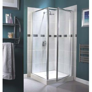 Aqualux Aquarius Pivot Door & Side Panel 760mm x 760mm