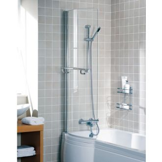 A Lakes bathrooms Bath Panel for an Arced Bath