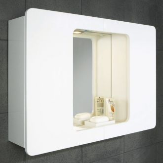 Logan - Mirrored Bathroom Cabinet with Lights