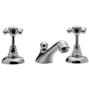 Butler 3 Hole Basin Mixer With Pop-up Waste