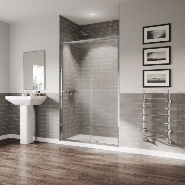 Coram Shower Enclosure - GB Sliding Door 1000mm