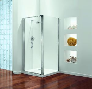 760mm Coram Premier Shower Pivot Door