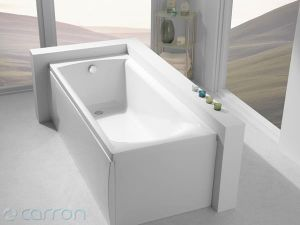Carron Delta Twin Grip Bath 1600 x 700