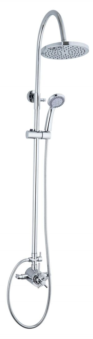 Mayfair Elena Exposed Thermostatic Shower Valve and Riser Kit ELE200