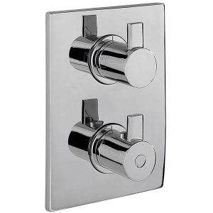 Evolution Concealed Thermostatic Shower Valve and 2 way Diverter