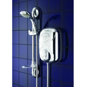 Which Electric Shower - Galaxy G2000LX Thermostatic Power Shower from MBD Bathrooms