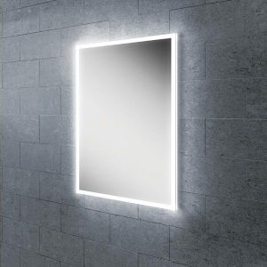 HiB Globe 50 Ambient LED Steam-Free Bathroom Mirror
