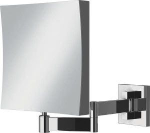 HiB Helix Square Magnifying Mirror