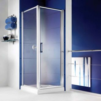 Manhattan Shower Enclosure 700mm Hinged Door