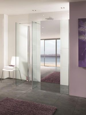 Lakes Mirror 1000mm Palma Shower Screen