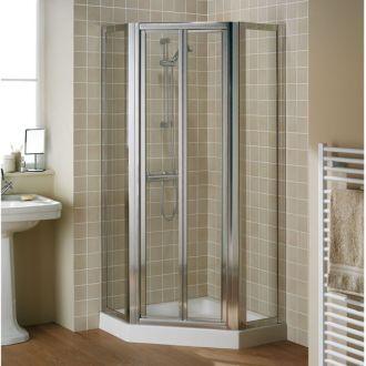 Lakes Pentagon Shower Enclosure Including Framed Door