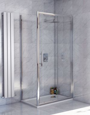 Lanza 8 1400mm sliding door shower enclosure lanza 8 for 1400mm sliding shower door
