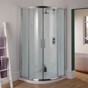 Manhattan 6 - 800mm Quadrant Duo Shower Enclosure
