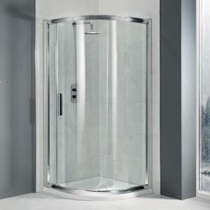 Manhattan 6 - 800mm Quadrant Uno Shower Enclosure