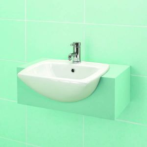 Monica Semi Recessed Basin