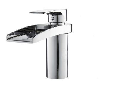 Mayfair Ohio Chrome Waterfall Bath Filler Mixer Tap OHI048