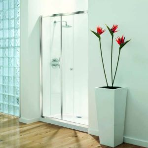 1000mm Coram Optima Shower Sliding Door
