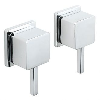 "Pablo 1/2"" Wall Mounted Side Valves (Pair)"