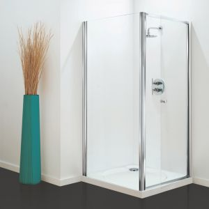 760mm Coram Optima Shower Pivot Door