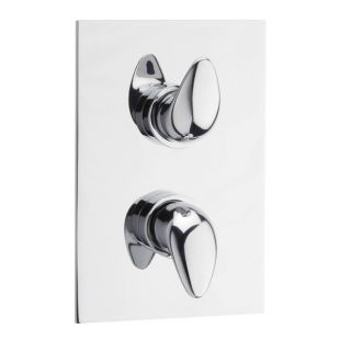 Prestige Concealed Thermostatic Shower Valve with 2 way Diverter