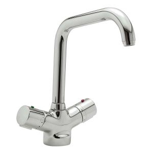 Questflo Thermostatic Monobloc Kitchen Tap Mixer