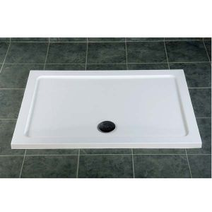 Low profile shower tray by MX Group - at 45mm high this is suitable for a shower for the disabled