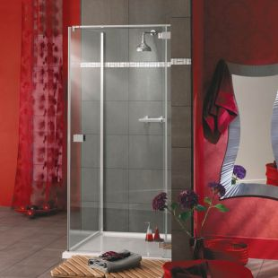 Italia Rosso Shower Door
