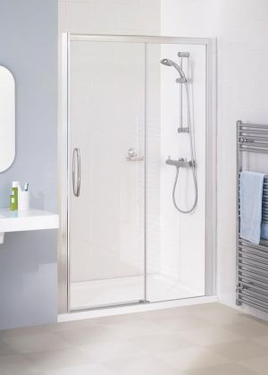 Lakes Low Threshold 1000mm Semi-Frameless Slider Door LKV3S10005