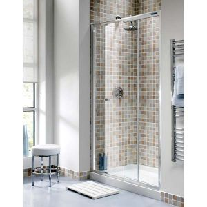 1200mm Ellbee Profile Plus Single Slider Door Shower Enclosure