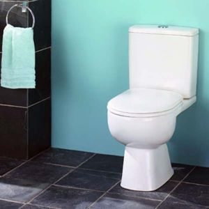Tribune Short Projection Toilet by Impulse. Supplied by Midland Bathroom Distributors.